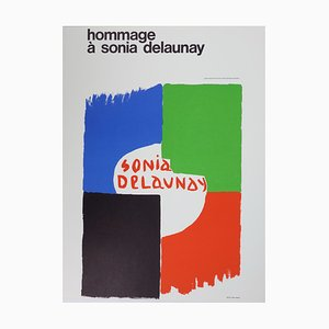 Sonia Delaunay (after) - Tribute to Sonia Delaunay - lithograph