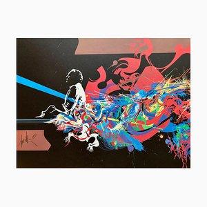 Lithographie Vintage Variations par Raymond Moretti