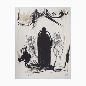 Raymond MORETTI : La proposition - Lithographie originale signée