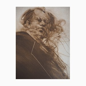 Claude WEISBUCH : L'homme - Lithographie