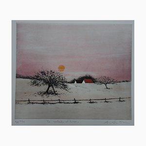 Annapia ANTONINI: Le soleil d'hiver, Originale Signature