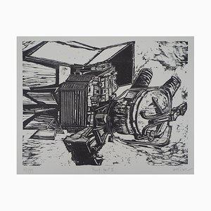 Devorah BOXER : Pump - Lithographie Originale Signée