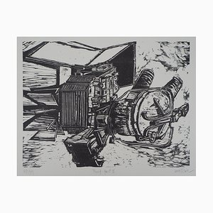 Pump Lithograph by Devorah Boxer