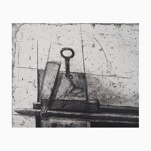 Serrure du Perou Engraving by Devorah Boxer