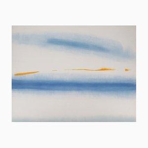 Jean Luc HERMAN - The blue inferno, original lithograph
