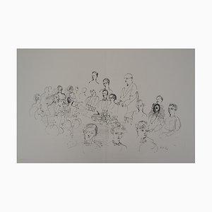 Raoul DUFY : Le dîner - Gravure Originale Signée