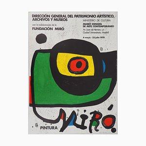 Joan MIRO : L'oeil rouge - Lithographie Signée
