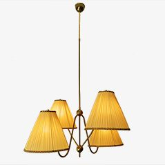Brass Ceiling Light by Josef Frank for J. T. Kalmar