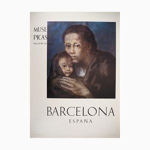 Blue Maternity Plakat von Pablo Picasso, 1966