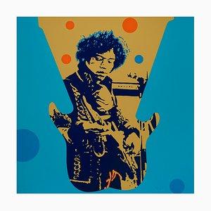 Jimmy Hendrix Silkscreen by Ivan Messac