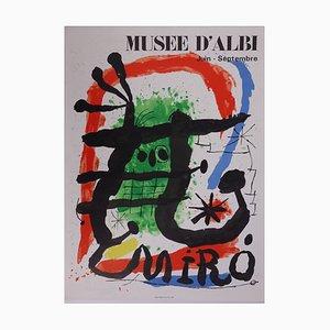 Lithographie Museum of Albi par Joan Miro