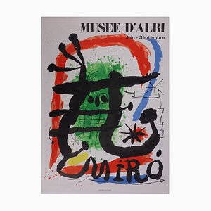 Museum of Albi Lithograph by Joan Miro