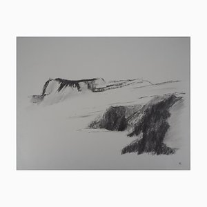 Montagne Drawing by Jean-Claude Verpillat
