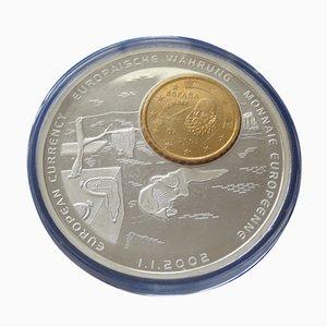 Monedas The Soft Watches de Salvador Dali