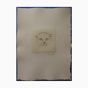 The Tabby Engraving by Léonor Fini, 1970s