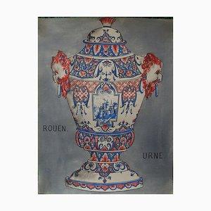 Urne Art Edition by Faiences Rouen