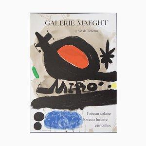 The Solar Bird, the Lunar Bird, Sparks Lithograph by Joan Miró, 1967