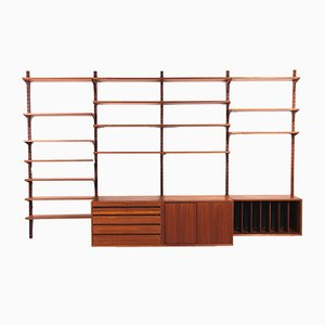Teak Modular Wall Unit by Poul Cadovius for Cado, 1960s