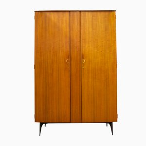 Italian Walnut Wardrobe from Meredew, 1960s
