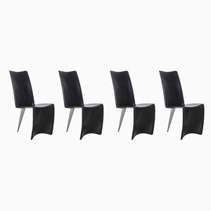 Esszimmerstühle von Philippe Starck für Driade, 1980er, 4er Set