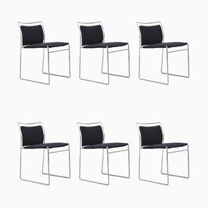 Chaises de Salle à Manger par Kazuhide Takahama pour Simon International, années 60, Set de 6