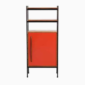 Red Cabinet by Willy van der Meeren for Tubax, 1950s