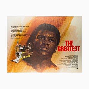 Vintage The Greatest Filmplakat von Arnaldo Putzu, 1977