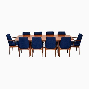Teak Dining Table & Chairs Set by Robert Heritage for Archie Shine, 1960s, Set of 1