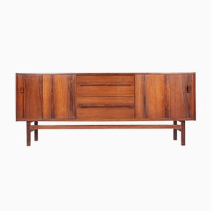 Schwedisches Mid-Century Sideboard aus Palisander von Nils Jonsson für Hugo Troeds, 1960er