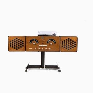 Italian Model RR126 Stereo System by Achille & Pier Giacomo Castiglioni for Brionvega, 1960s