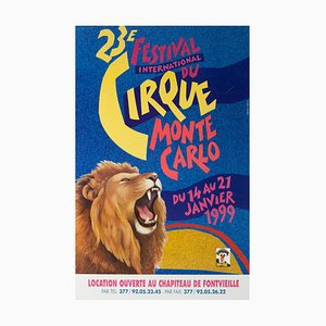 French Monte Carlo Circus Poster, 1999