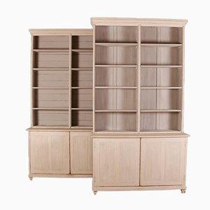Muebles de librería suecos, años 20. Juego de 2