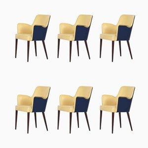 Esszimmerstühle von Figli di Amadeo Cassina für Cassina, 1950er, 6er Set