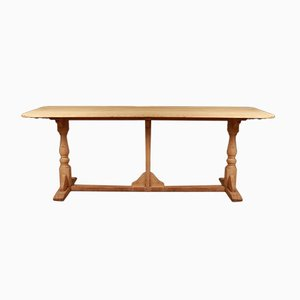 Antique English Oak Tavern Table