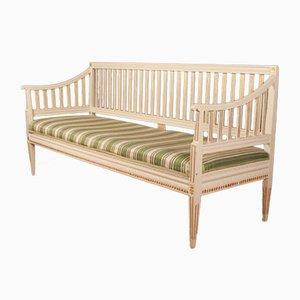 Antikes schwedisches Sofa im gustavianischen Stil
