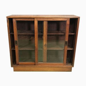 Vintage Mahogany Display Cabinet