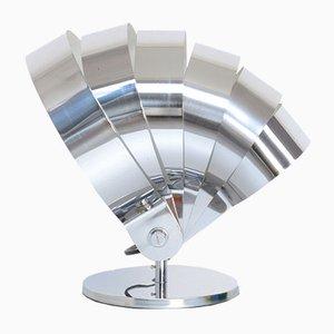 Lampe de Bureau en Chrome par E. R. Nele pour Temde, années 60