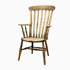 Antique Victorian English Windsor Armchair