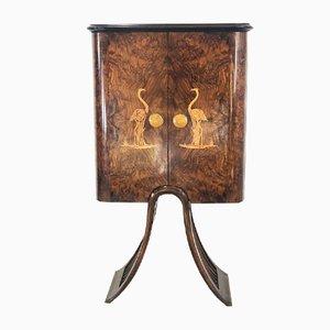 Mueble bar de Luigi Scremins, años 40