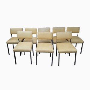 Vintage Esszimmerstühle von WK Möbel, 1970er, 8er Set
