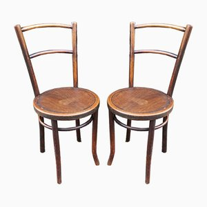Bistro Chairs from Thonet, 1940s, Set of 2