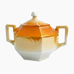 Vintage Porcelain Sugar Bowl from Union K, 1920s