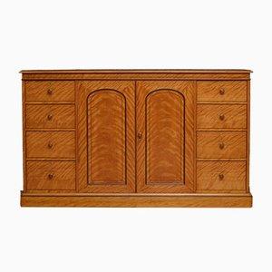 Mueble victoriano antiguo satinado de Gillow