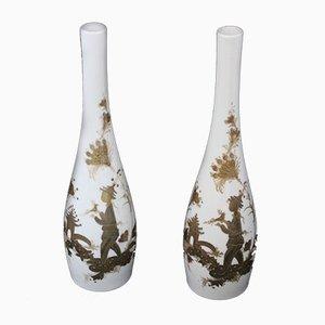 Vases en Porcelaine de Rosenthal, années 50, Set de 2