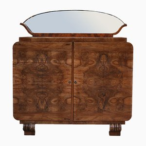 Art Deco Sideboard with Mirror, 1933