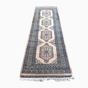 Pakistanischer Teppich aus Wolle & Seide, 1950er