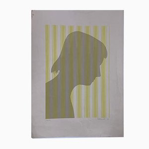 Shadows Silkscreen by Berto Ravotti, 1972