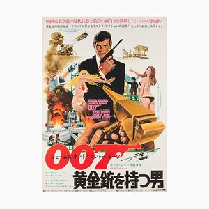 Vintage The Man with the Golden Gun Film Poster by Robert McGinnis, 1974