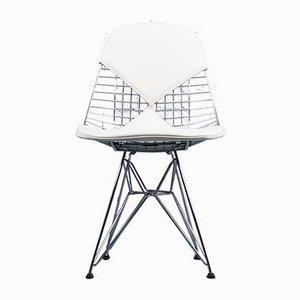 Chaise de Salle à Manger DKR-2 Mid-Century en Métal par Charles & Ray Eames pour Herman Miller
