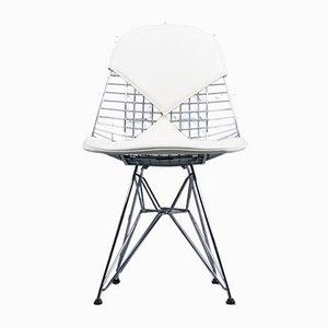 Mid-Century Wire DKR-2 Dining Chair by Charles & Ray Eames for Herman Miller